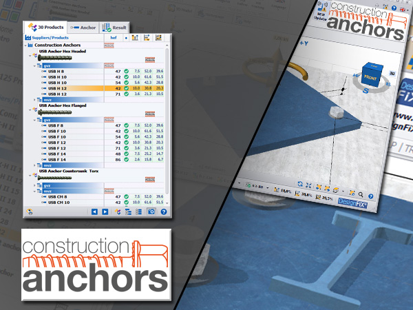 Anchor Design Construction Anchors