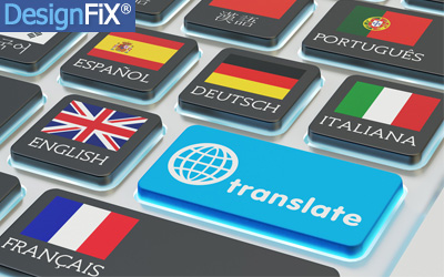 New languages for DesignFiX available