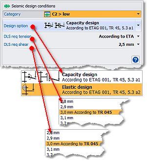 DesignFiX: Seismic category C2 gr. low